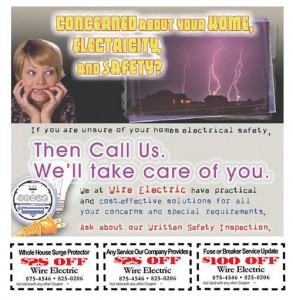 Electrical Saftey Coupon