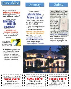 Home Safety Coupon